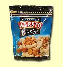 Alesto. Royal Nuts - смесь отборных орехов, 200гр